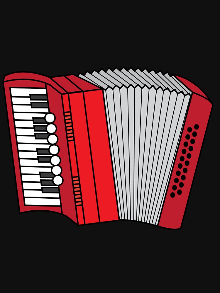 Accordion Accordionist T Shirt Gift Accordion by Customdesign200
