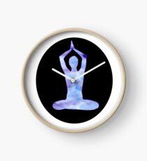 yoga circle Clock