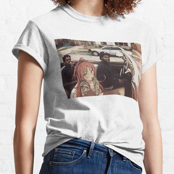 Waifuz n the Hood feat Kyoko Sakura Camiseta clásica
