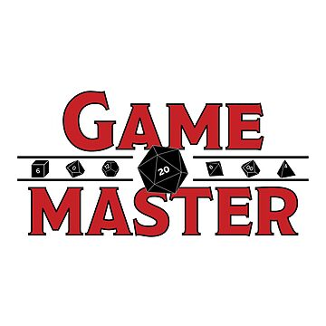 Game Master Sticker by JPDesignsStuff