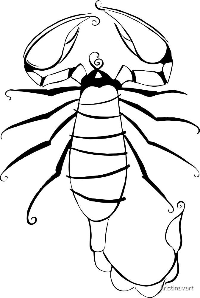 Scorpio Zodiac Sign by kristinavart