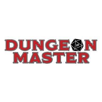 Dungeon Master Sticker - Alternate by JPDesignsStuff