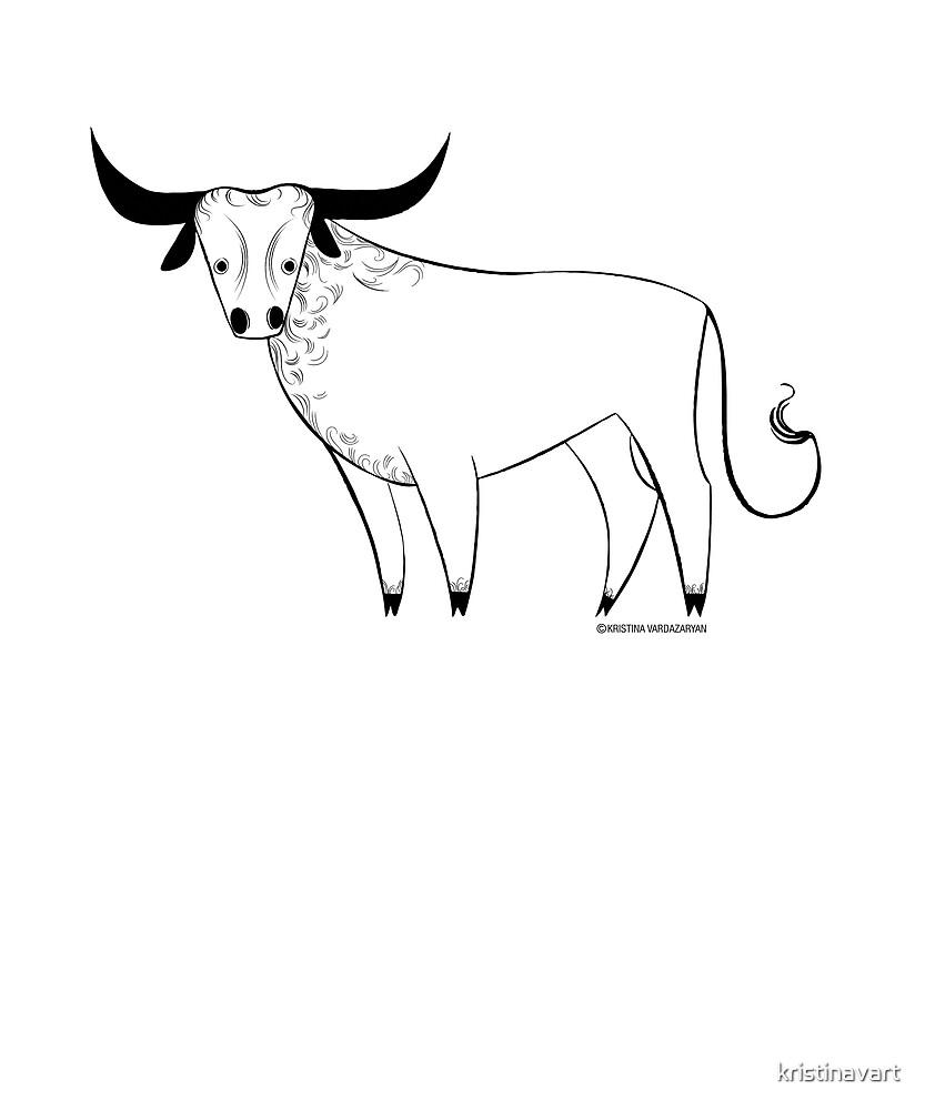 Taurus Zodiac Sign by kristinavart