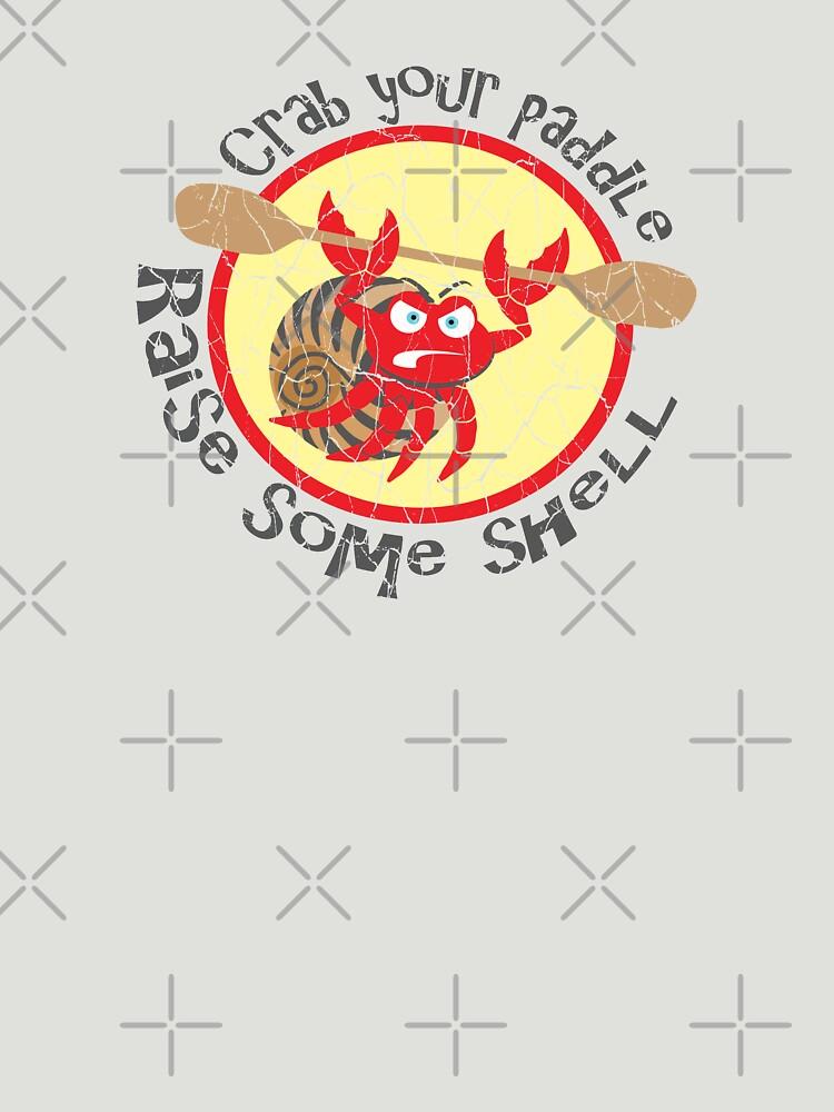 Raise Some Shell | Paddling Designs | DopeyArt by DopeyArt