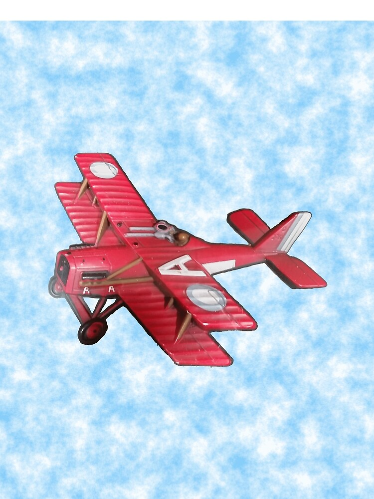 Red Biplane by joehx