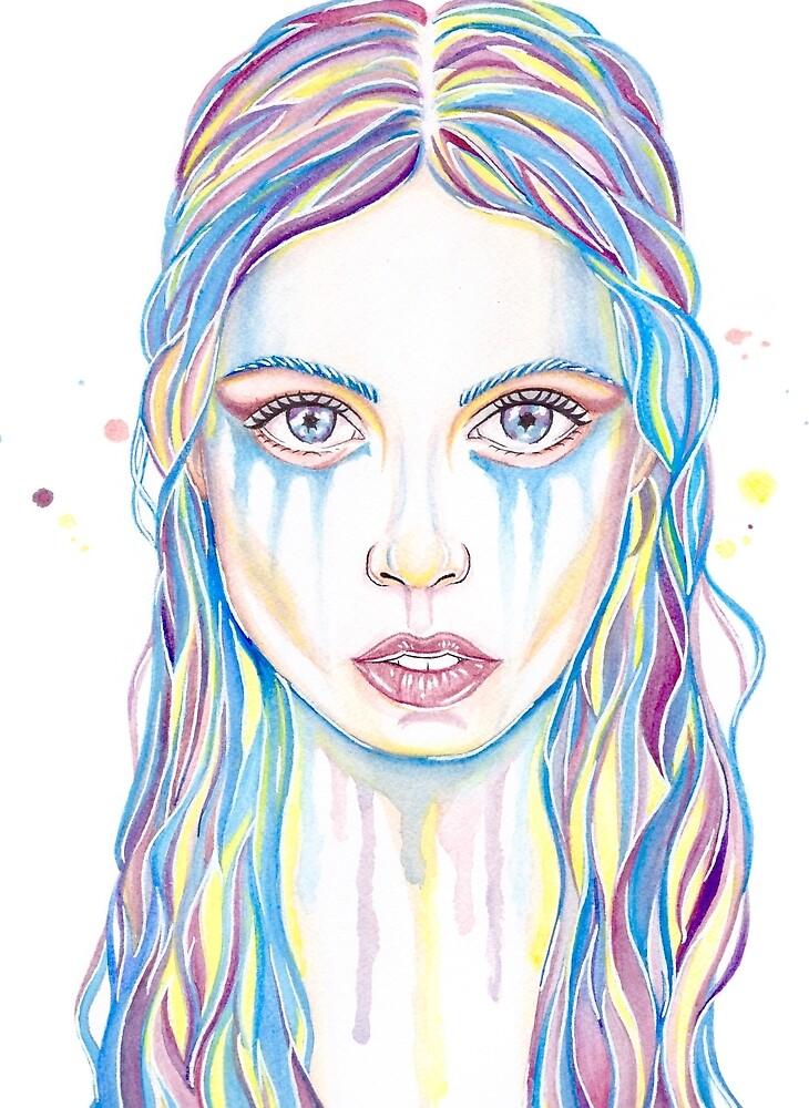 Girl in Pastel by aznlurve