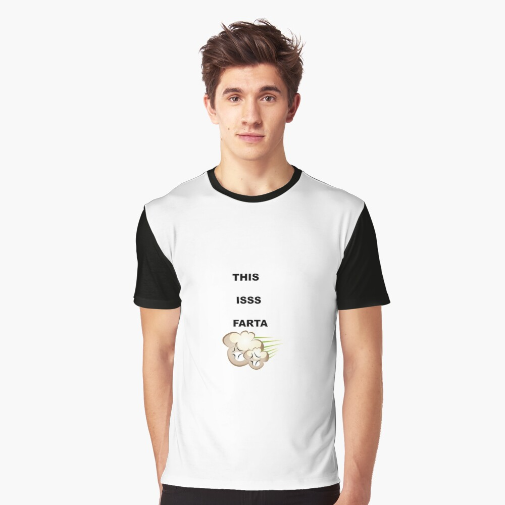THIS IS FARTA Graphic T-Shirt Front