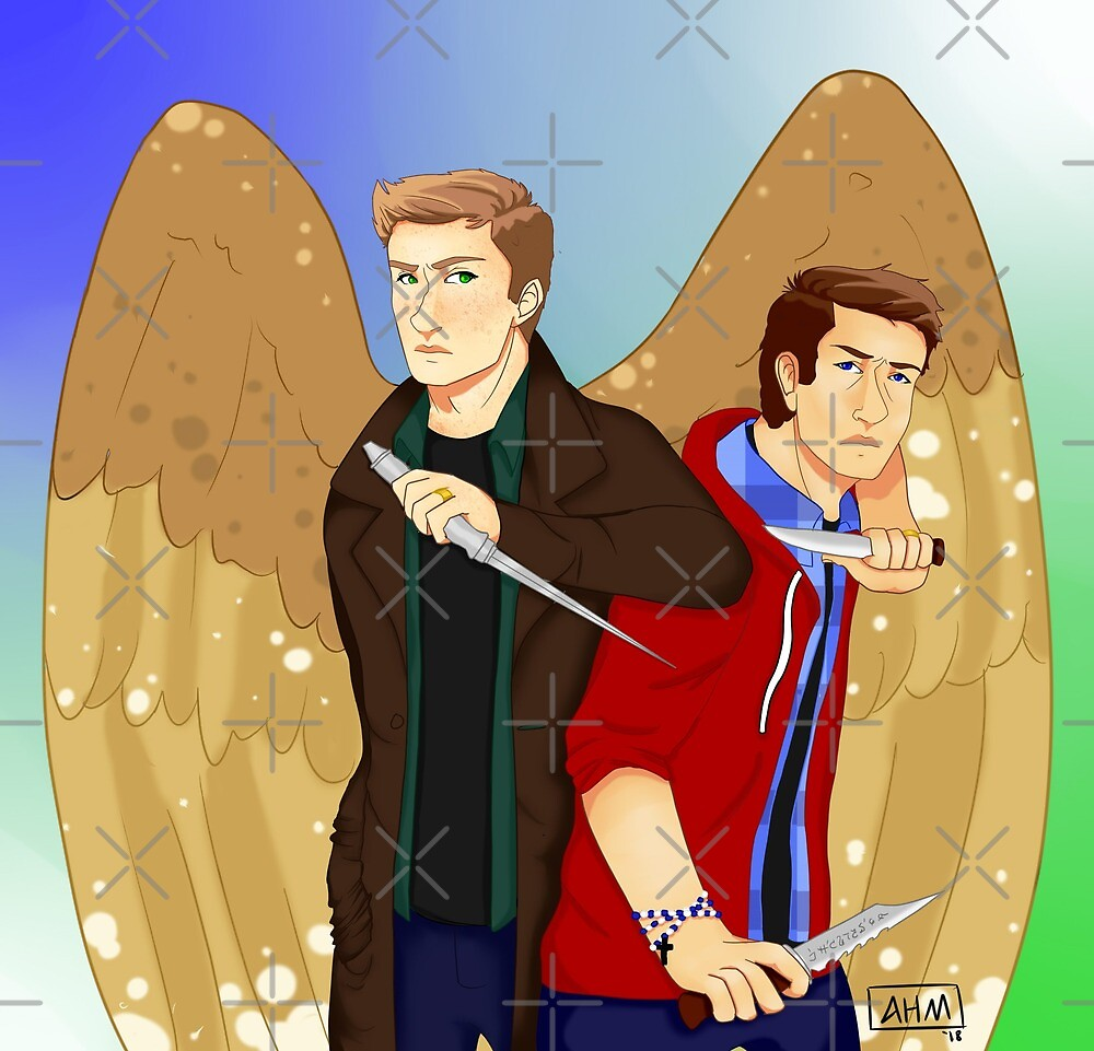 Reverse Verse Destiel by Alfie Moon