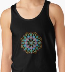 Red Star Dot Mandala - Art&Deco By Natasha  Tank Top