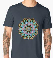 Red Star Dot Mandala - Art&Deco By Natasha  Men's Premium T-Shirt
