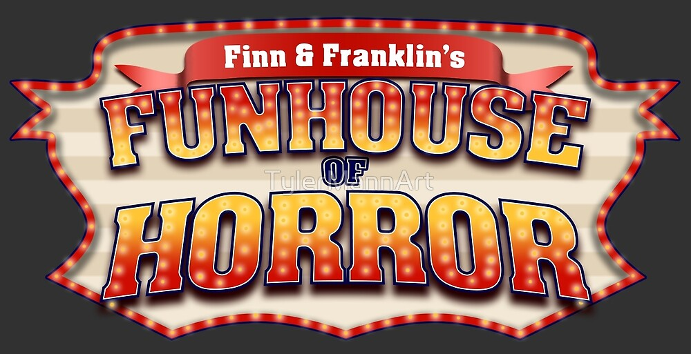 Funhouse Of Horror Logo by TylerMannArt