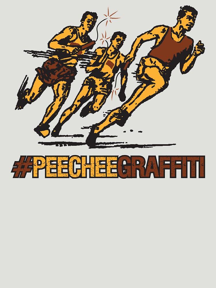 Retro Pee Chee Graffiti by Weirsbowski