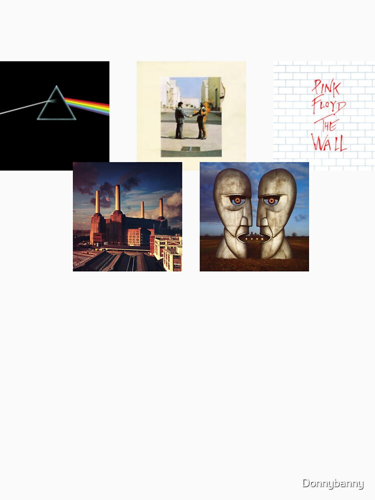 Pink Floyd Album Square (Without Writing) by Donnybanny