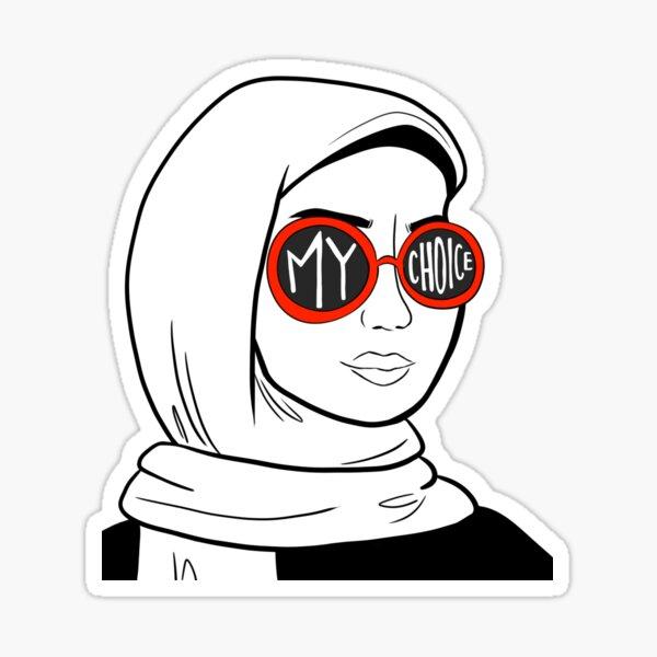 Mon choix (rouge) Sticker
