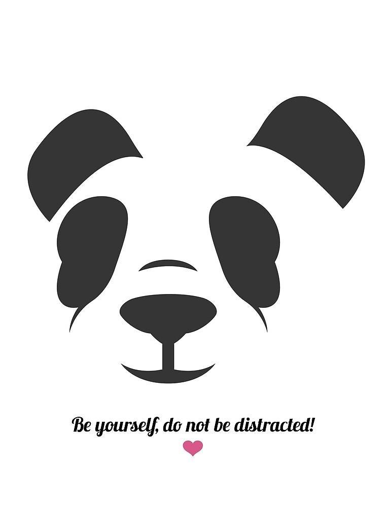 I love panda by MD  Studios