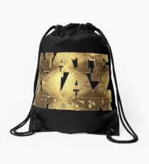 Nate Diaz 209 Represent GOLD Drawstring Bag