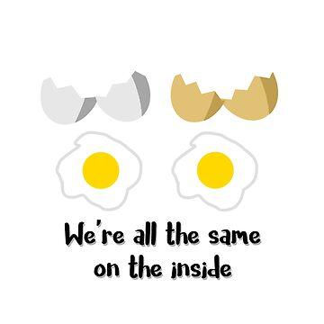 Equality Eggs by Crazedditto