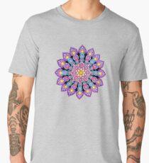 Purple Dot Mandala - Art&Deco By Natasha Men's Premium T-Shirt