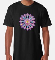Purple Dot Mandala - Art&Deco By Natasha Long T-Shirt