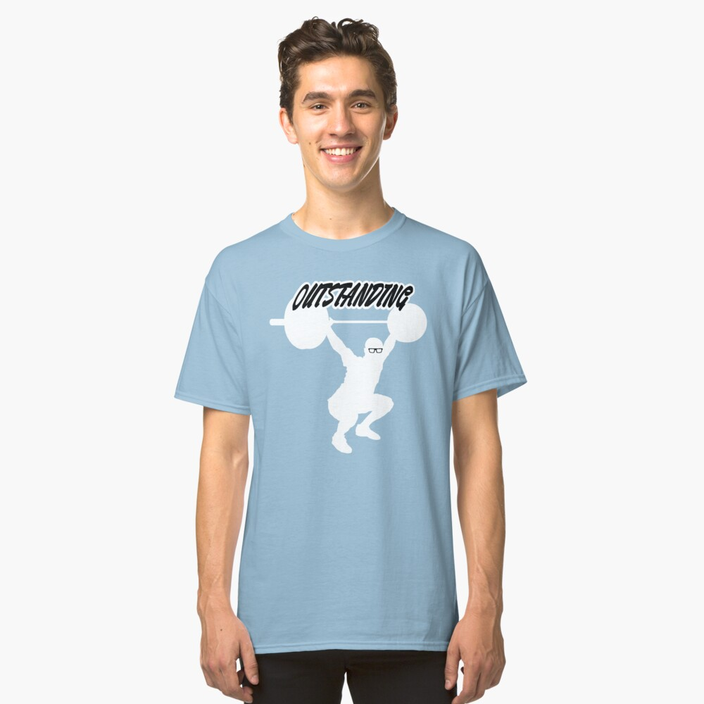 """Becky Nation """"The Mac"""" Threads Classic T-Shirt Front"""