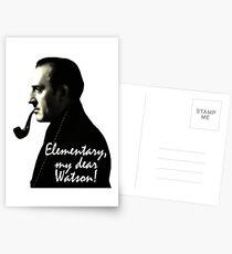 Elementary, my dear Watson! Postcards