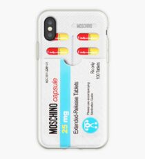 MOSCHINO PILL PACK iPhone Case