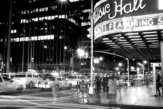 The ghosts of New York by tintinvb