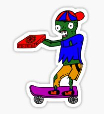 Hot Delivery Guy Sticker