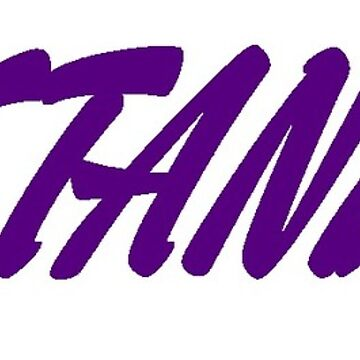 "Becky Nation ""The Mac"" Sticker In Purple by TheBeckyNation"
