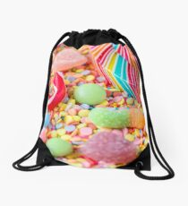 Rainbow Candy  Drawstring Bag