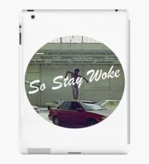 So Stay Woke iPad Case/Skin