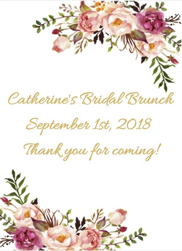 Catherine's Bridal Brunch by lbaran413