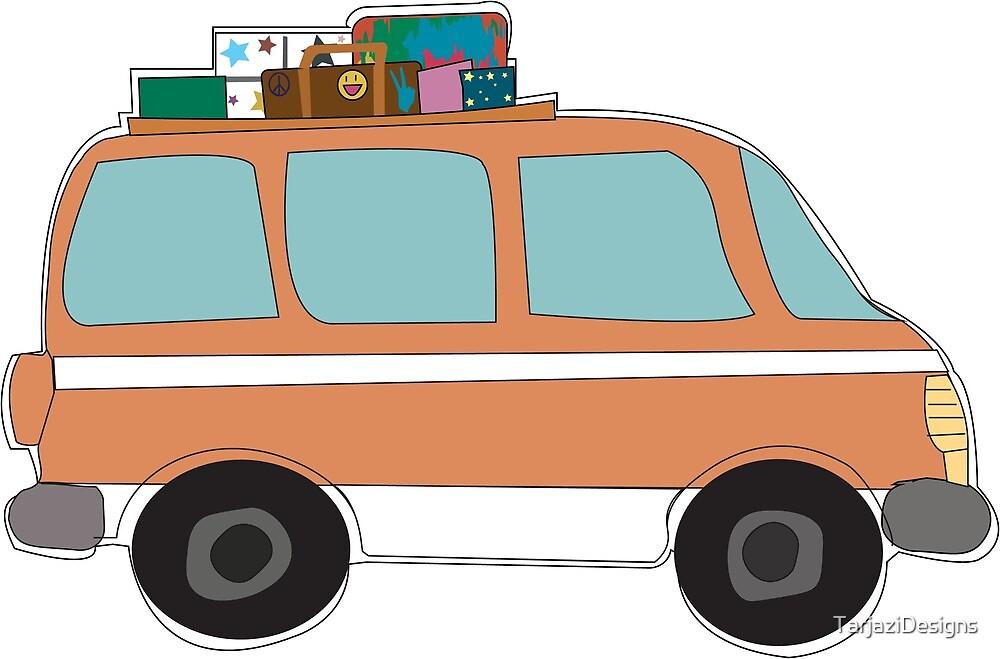 Traveling Van by TarjaziDesigns