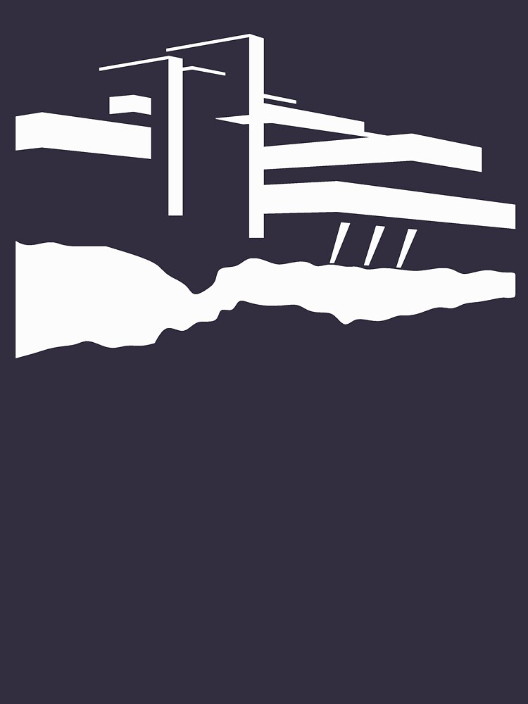 Frank Lloyd Wright - Fallingwater House  by kazumaoski