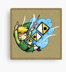 Zelda Wind Waker Wind's Requiem  Canvas Print