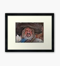 Tombstone Bandito Framed Print
