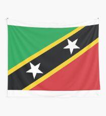 St. Kitts und Nevis Nationalflagge Wandbehang