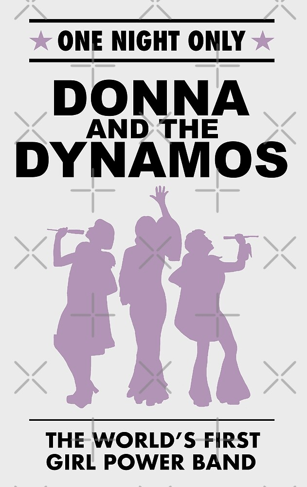 donna and the dynamos! by lunerys