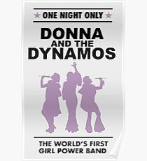 donna and the dynamos! Poster