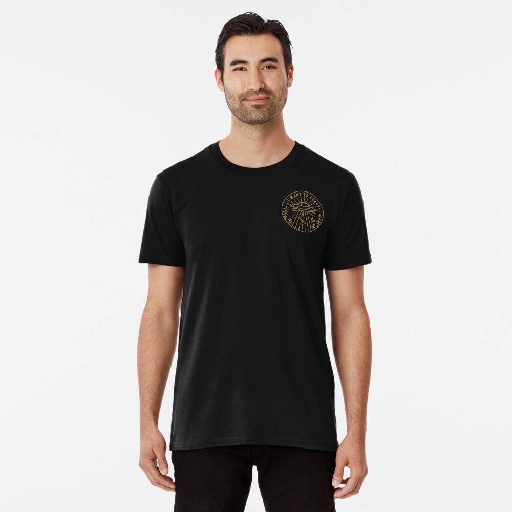 I Want To Leave - Pocket Premium T-Shirt