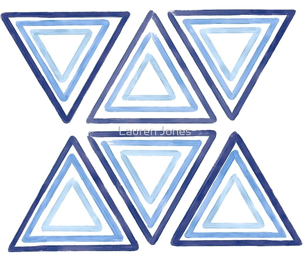 Triangles  by Lauren Jones