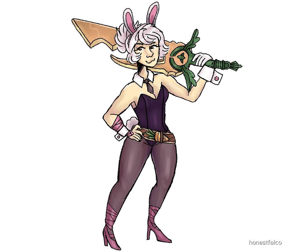 Battle Bunny Riven by honestfalco