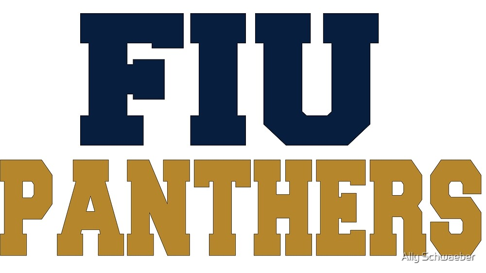FIU Panthers Block by Ally Schwaeber