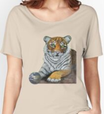 Hilary  Robinsons tigers paw  Women's Relaxed Fit T-Shirt