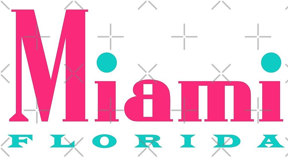 Art Deco Miami Florida by Futurebeachbum