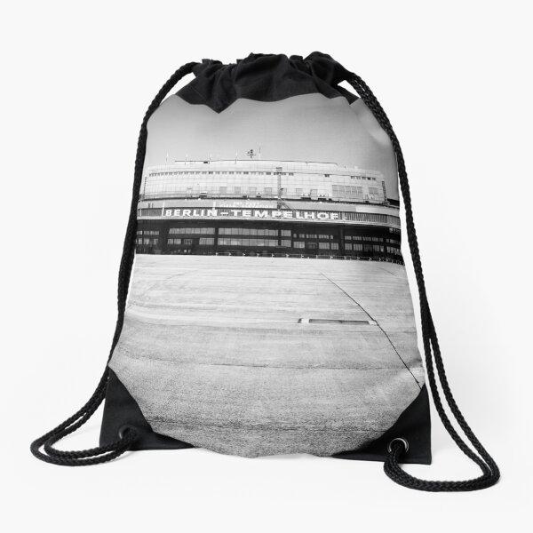 Airport Tempelhof Drawstring Bag