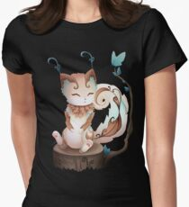 Earth Kitsune - 2018 Women's Fitted T-Shirt