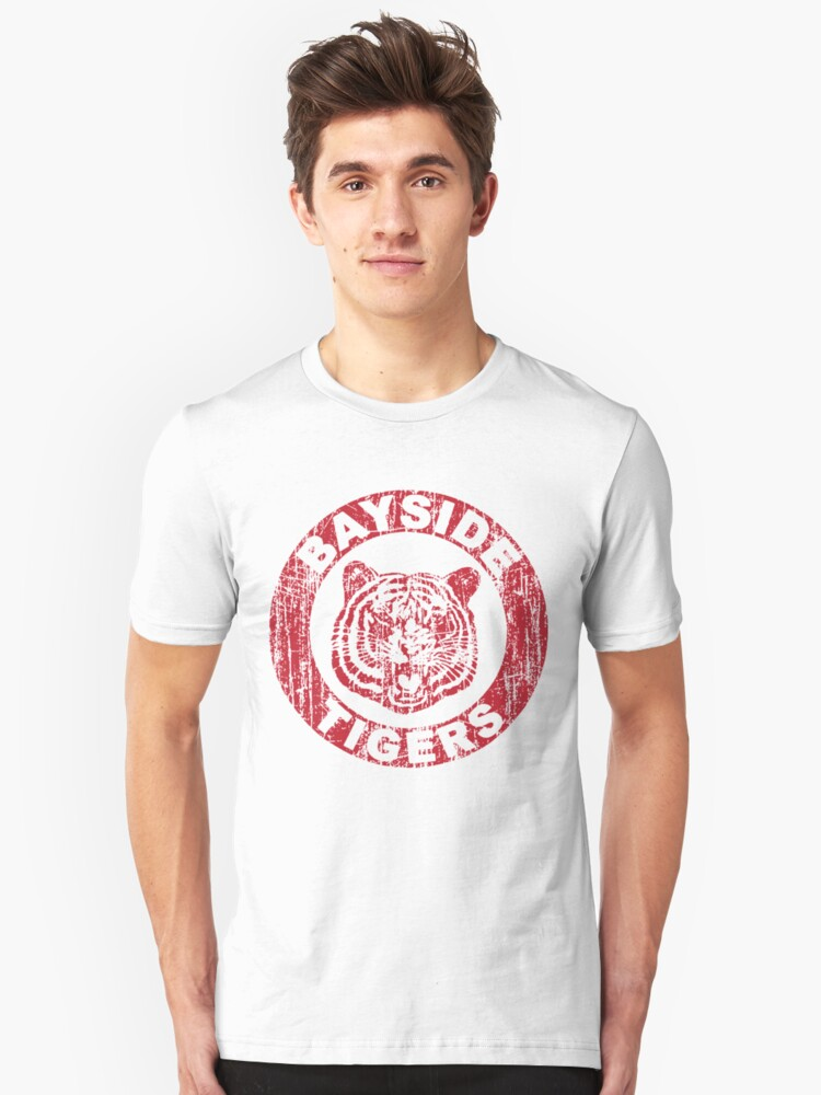 Bayside School Tigers Saved By The Bell T-Shirt Unisex T-Shirt Front