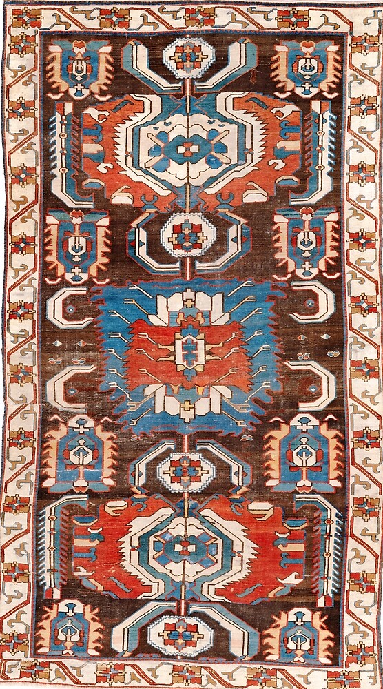 Quba Azerbaijan Antique Rug by Vicky Brago-Mitchell