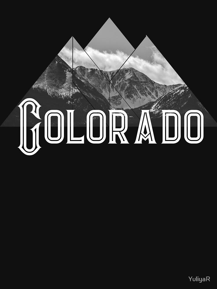 Colorado State Mountains Denver  by YuliyaR